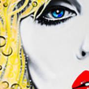 Blondie Art Print by Alicia Hayes