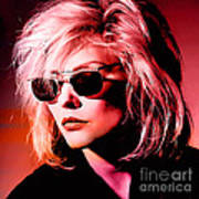Blondie Debbie Harry Art Print