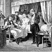 Blood Transfusion, 1874 Art Print