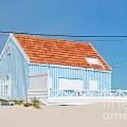 Blue Fisherman House Art Print