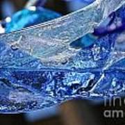 Blue Blue Art Print
