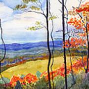Blue Ridge Mountains Of West Virginia Art Print