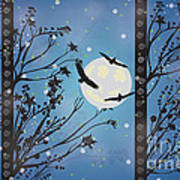 Blue Winter Art Print