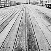 Boardwalk Of Distance Art Print