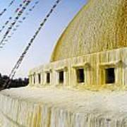 Bodhnath Stupa Art Print