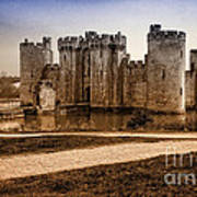 Bodiam Castle Art Print by Donald Davis