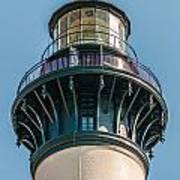 Bodie Island Lighthouse Obx Cape Hatteras North Carolina Art Print