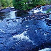 Bog River Falls Art Print