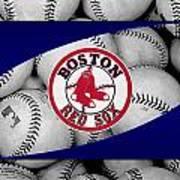 Boston Red Sox Art Print by Joe Hamilton