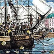 Boston Tea Party, 1773 Art Print by Granger