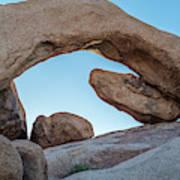 Boulders In A Desert, Joshua Tree Art Print