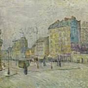 Boulevard De Clichy Art Print