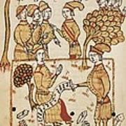 Boysset, Bertrand 1355-1415. Surveyor Art Print
