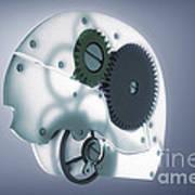 Brain Mechanism Art Print
