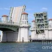 Bridge Of Lions St Augustine Florida Art Print