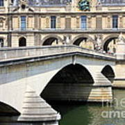 Bridge Over The Seine Art Print