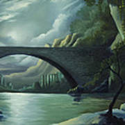 Bridge To Nowhere Art Print