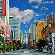 Broad Street - Avenue Of The Arts Art Print