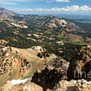 Brokeoff Mountain Scenery Art Print