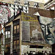 Brooklyn Grafitti Art Print