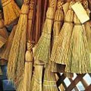 Brooms For Sale Art Print