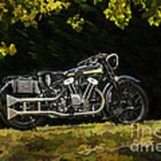 Brough Superior Ss 100 Art Print