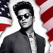 Bruno Mars Art Print