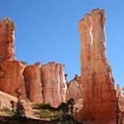 Bryce Canyon Fins Art Print
