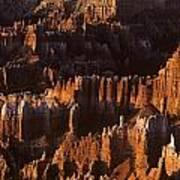 Bryce Canyon National Park Hoodo Monoliths Sunrise Southern Utah Art Print