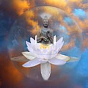 Buddha Meditation Art Print
