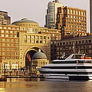 Buildings At The Waterfront, Boston Art Print