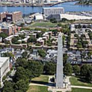 Bunker Hill Monument, Boston Art Print