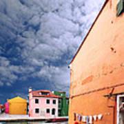 Burano 07 Art Print by Giorgio Darrigo