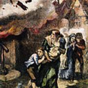 Burning Of Norfolk, 1776 Art Print