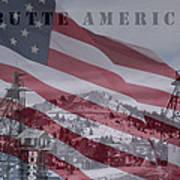 Butte America Art Print