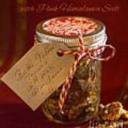 Butter Toffee Pecan Nuts With Himalania Salt Art Print