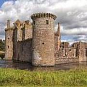 Caerlaverock Castle Art Print