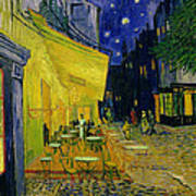 Cafe Terrace Arles Art Print