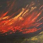 Camberwell Skies Art Print