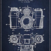 Camera Patent Drawing From 1962 Art Print by Aged Pixel
