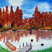 Camp Maple Art Print