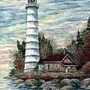Cana Island Light Art Print