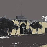 Canutillo Hacienda As Given To Pancho Villa  C.1920-2013 Art Print