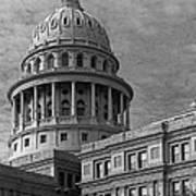 Capitol At Dawn Art Print