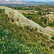 Cappadocia Landscape-turkey Art Print