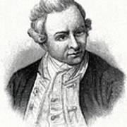 Captain James Cook, British Explorer Art Print