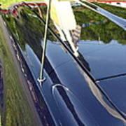 Car Reflection Art Print