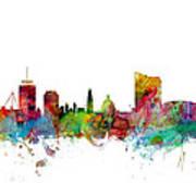 Cardiff Wales Skyline Art Print