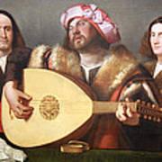 Cariani's A Concert Art Print