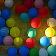 Carnival Balloons Art Print